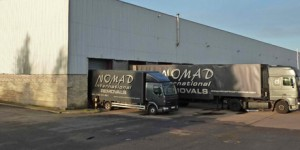 Nomad International Relocation warehouse