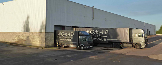 Nomad Corporate warehouse
