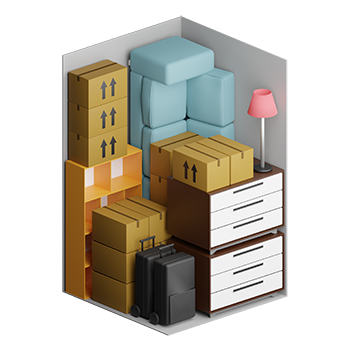 Studio flat storage