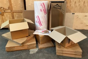 Removal boxes kit - large