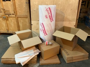 Packaging kit for removals
